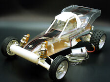 Vintage 1988 Traxxas TRX10 BULLET 2WD Buggy Clear Body CLEAN MINT Shape Display