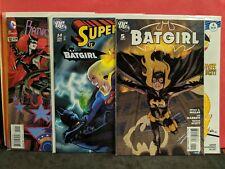 BATWOMAN #12 (2012) J.H. WILLIAMS ART! DC 4 COMIC LOT, Batgirl vs SUPERGIRL