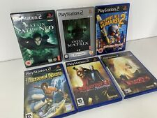 PS2 Games Retro Bundle x6 Devil May Cry 2 & 3 Destroy All Humans The Matrix