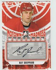 2012-13 ITG MOTOWN MADNESS Ray Sheppard AUTOGRAPH CARD SIGNED