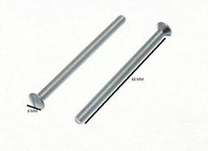 Prise Électrique Douille Vis BZP 3.5mm X 50mm Paquet De 10