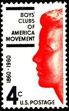 USA 1960 Sc1163 1v mnh Boys' Clubs of America movement, cent.