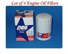 4 Oil Filters PH400 ACE MADE IN USA Fits: Austin Chrysler Dodge Toyota Volvo