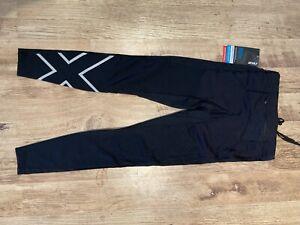 2XU Aero Vent Men's Compression Tights - RRP £80 - Size Small - Black