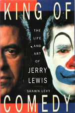 King of Comedy, Life of Jerry Lewis by Shawn Levy ~ Hardcover DJ 1st Ed. 1996