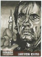 British Horror Collection Sketch Card created by Chris Henderson [ B ]