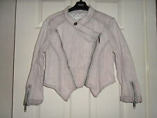 River Island Cropped Cotton Casual Coats & Jackets for Women