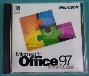 Microsoft Office 97 Professional Edition X03-44544 90844 with CD Key