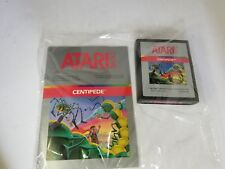 Never Used Pal Silver Centipede With Manual Game For Atari 2600 Not For Usa N41