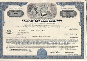 $20,000 or $25,000 bond Kerr-McGee Corp dated 1982