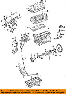 SUZUKI OEM 89-01 Swift-Engine Crankshaft Crank Seal 0928332042