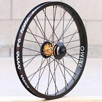 PRIMO BMX BISCUIT BICYCLE SEAT BLACK TAN GREEN CORDUROY