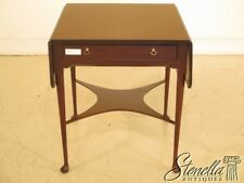 43122: MADISON SQUARE Drop Leaf Mahogany Occasional Table ~ NEW