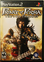 """""""PRINCE OF PERSIA: THE TWO THRONES"""" PLAYSTATION 2 PS2 COMPLETE"""
