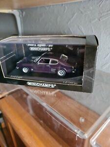 Minichamps 1 43 Ford Capri Dark Violet