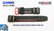 VINTAGE CASIO ORIGINAL BAND / CORREA PGW-30-1A NOS