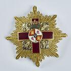 Spain Order of Military Merit Gold CROS STAR RED DESIGNATION Spanish ALFONSOXIII