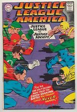 Justice League of America #56 (1967) VG- (3.5) ~ DC Comics Gardner Fox