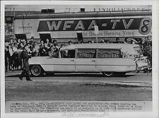 President John Kennedy Assassination Lot of 9 Press Photos