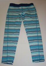 New Gymboree Girls Blue Stripes Yoga Style Leggings L 10-12 Year NWT Gymgo