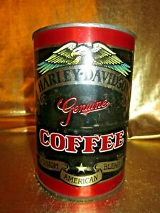 Harley-Davidson Motorcycles Coffee Biker's Brew Can Sealed
