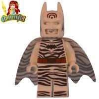 Custom LEGO Minifigure SDCC 2019 Inspired Zebra Batman UV Printed