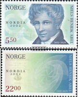 Norwegen 1448-1449 (kompl.Ausg.) postfrisch 2002 Briefmarkenausstellung