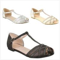 Women's New Buckle Ankle Strap Platform Open Toe Sandal Gladiator Shoes Sz 5-10