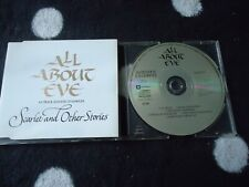 ALL ABOUT EVE CD SINGLE SAMPLER , SCARLET AND OTHER STORIES ,GOTHIC,FOLK,ROCK