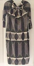 Just Cavalli Open back Cotton Blend  Dress, Italian Size 44