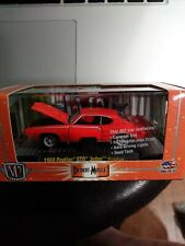 M2 Detroit Muscle 1969 Pontiac GTO Judge Prototype R13 2010 CAROUSEL RED