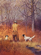 Lynn Bogue Hunt Hunting Woodcock hunter dogs