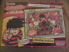 New Beano Dennis The Menace & Gnasher 150 Piece Jigsaw Factory Sealed