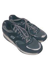 Skechers Shape Up men's walking shoe sz. 9.5 black grey athletic sneakers 520004