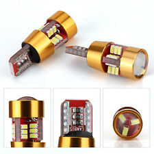 2x T10 2644lm LED Signal Lamp 4014 Wedge Light Car Side Bulb Turn Parking Light