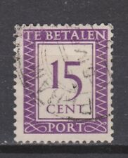 Port 41 TOP CANCEL PARAMARIBO Suriname portzegel 1950 ALL DUE STAMPS PER PIECE