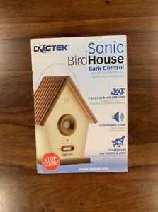 DOGTEK Sonic Bird House Bark Control Outdoor/Indoor- Open Box