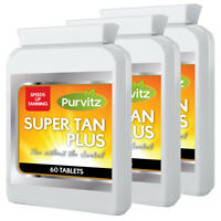 Tanning Tablets Safe Healthy Melanin Accelerator Pills Made In UK Purvitz