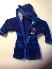 mickey mouse dressing gown age 18-23 months