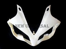 ABS Unpainted Headlight Head Nose Front Fairing For 2007-2008 Yamaha R1