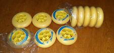 11 wheels Micro 84mm/85A Inline Skate Rollerblade Wheels ( Free shipping )