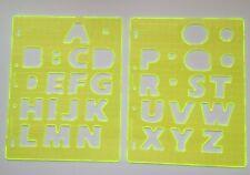Fiskars Shape Template Set - Letters #1