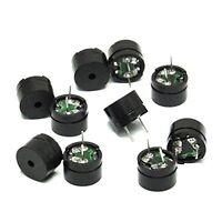 10/5pcs Piezo Sounders Passive Buzzer Parts for Arduino Small Alarm Speaker HOT
