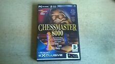 CHESSMASTER 8000 - CHESS MASTER 2002 PC GAME - FAST POST - COMPLETE - VGC