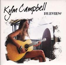 Kym Campbell - Preview - CD (Medioci Studios 2009)