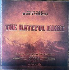 THE HATEFUL EIGHT Quentin Tarantino (2015) Special 70mm Roadshow Souvenir Book