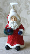 Santa Lotion Bottle, Liquid Soap Pump, Festive Holiday Christmas Decor