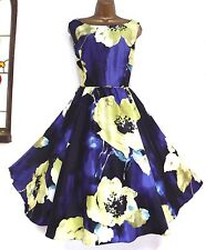MONSOON ✩ STUNNING CARNABY FLORAL FIT & FLARE SUMMER COCKTAIL DRESS ✩ UK 10 BNWT