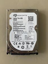 "Seagate Laptop Thin ST500LM021 500GB SATA 6Gb/s 7200RPM HDD2.5"" 7mm"