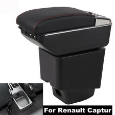 Armrest Box For Renault Captur 2018 2019 Console Storage with Cup Holder Ashtray